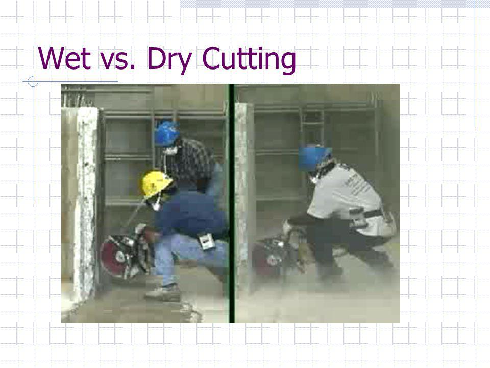 Wet vs. Dry Cutting