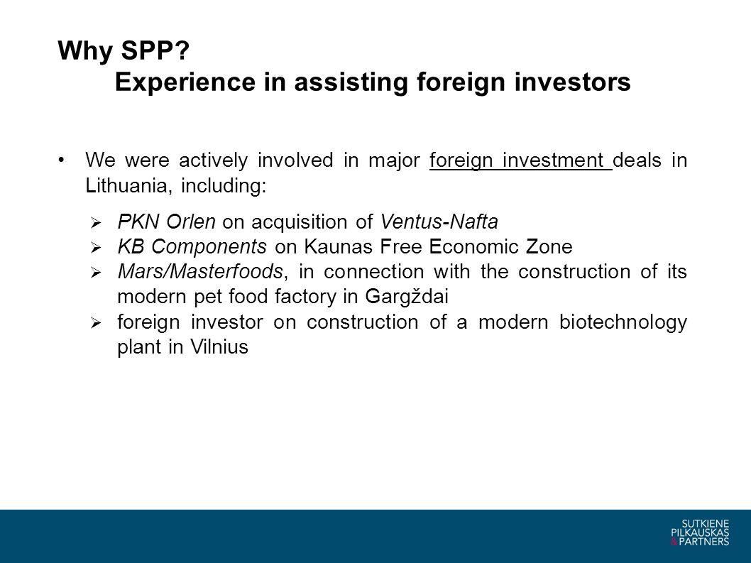 Why SPP.