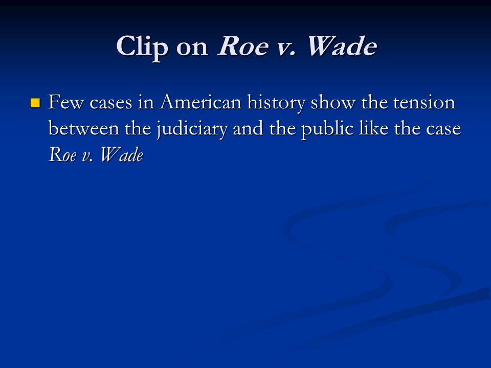 Clip on Roe v.