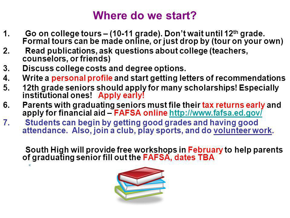 Post Secondary Education Many students are unsure of what they want to study.