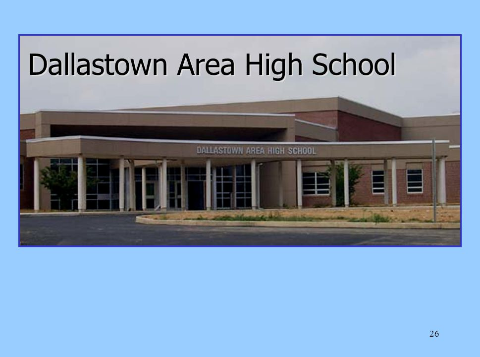26 Dallastown Area High School
