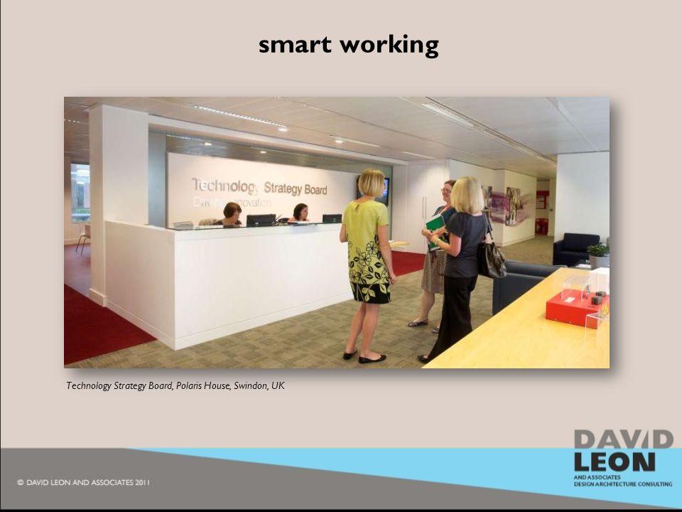 2009 smart working Technology Strategy Board, Polaris House, Swindon, UK