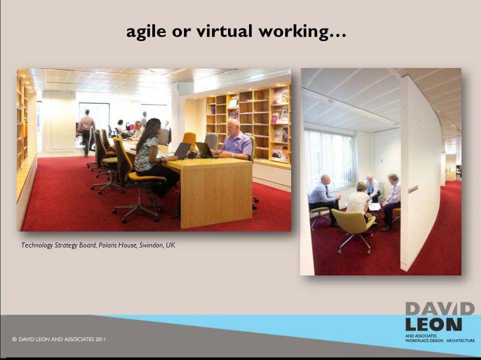 2010 agile or virtual working… Technology Strategy Board, Polaris House, Swindon, UK