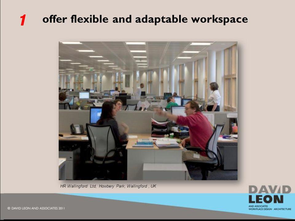 2010 offer flexible and adaptable workspace HR Wallingford Ltd, Howbery Park, Wallingford, UK 1