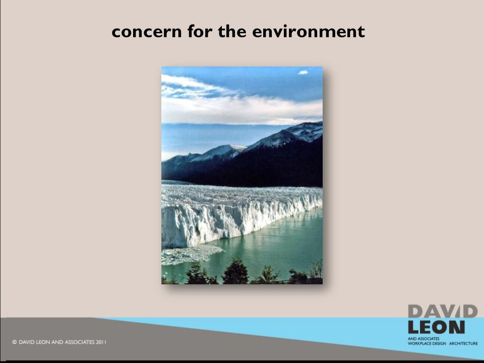 2010 concern for the environment