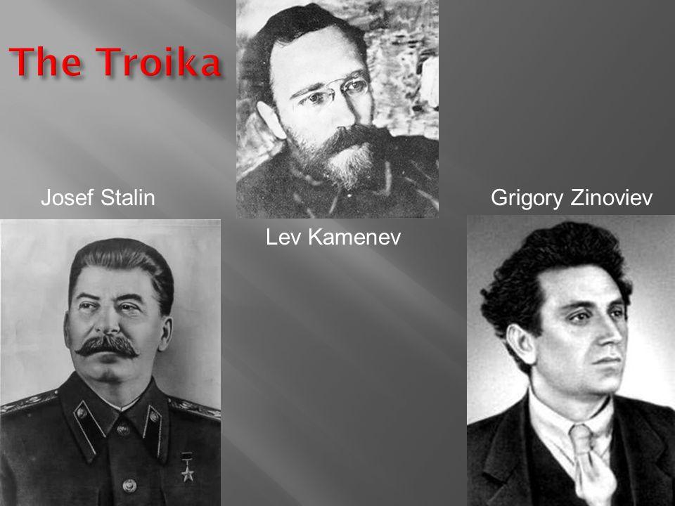 Josef Stalin Lev Kamenev Grigory Zinoviev