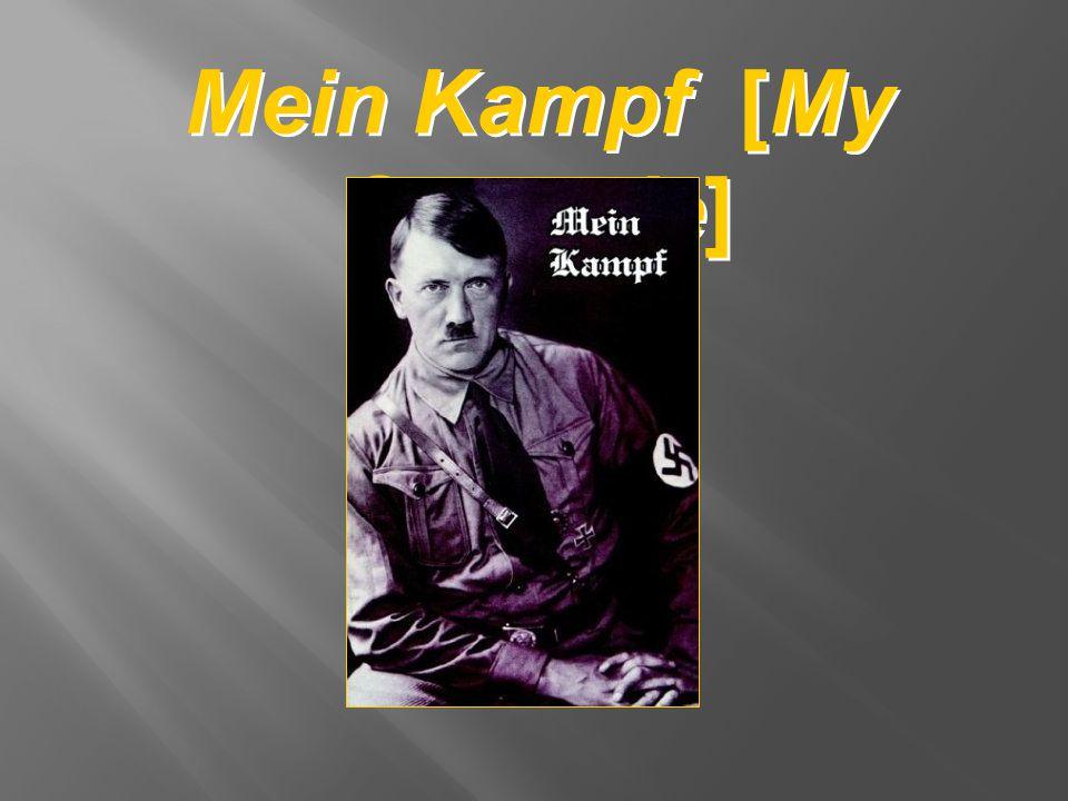 Mein Kampf [My Struggle]