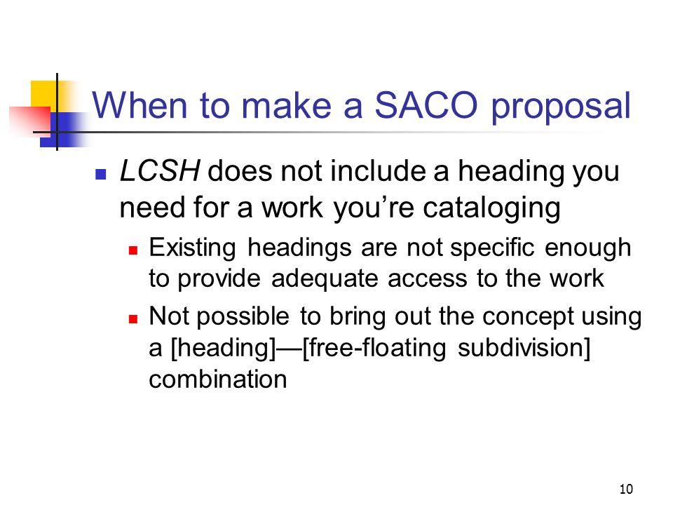 SACO home page: www.loc.gov/catdir/pcc/saco.html