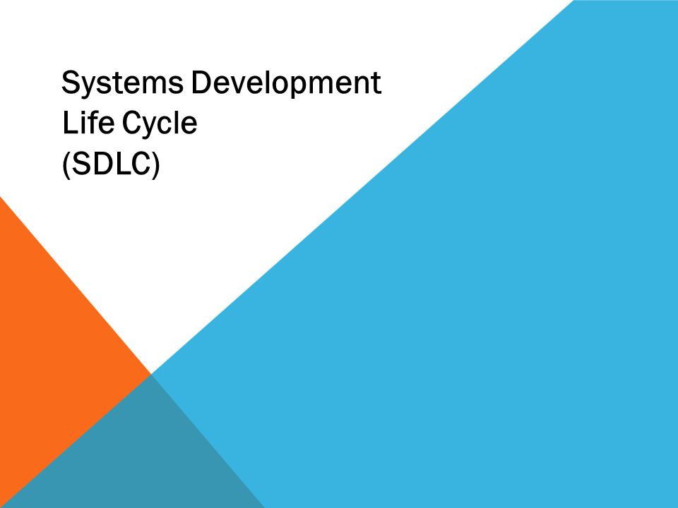 WHAT IS SDLC.