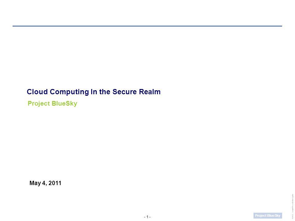 - 12 - Project BlueSky UWCC_SamplePresentation1.pptm Appendix