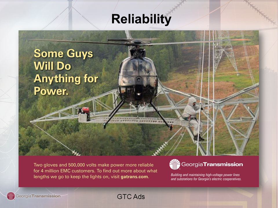 Reliability GTC Ads