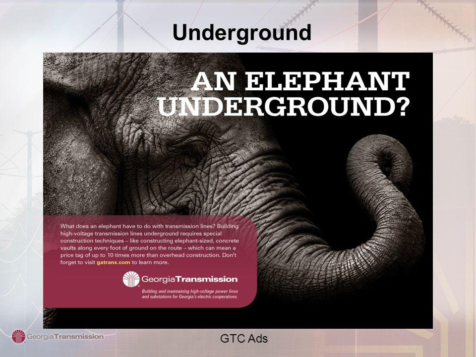 Underground GTC Ads