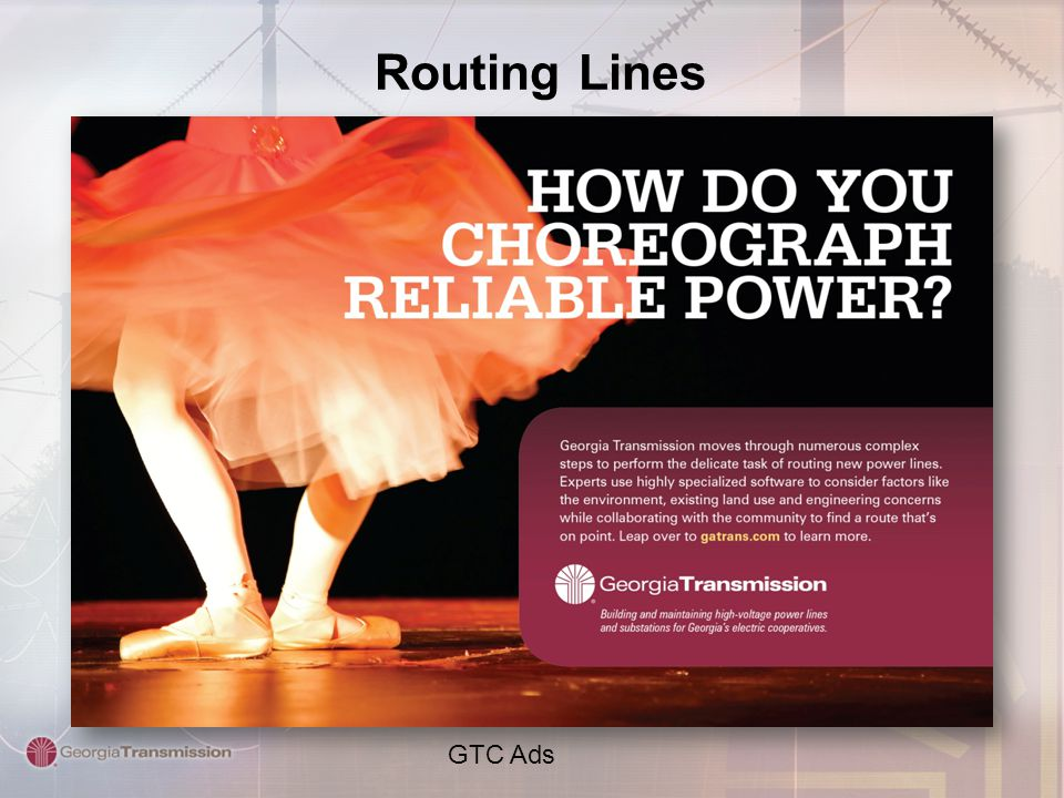 Routing Lines GTC Ads