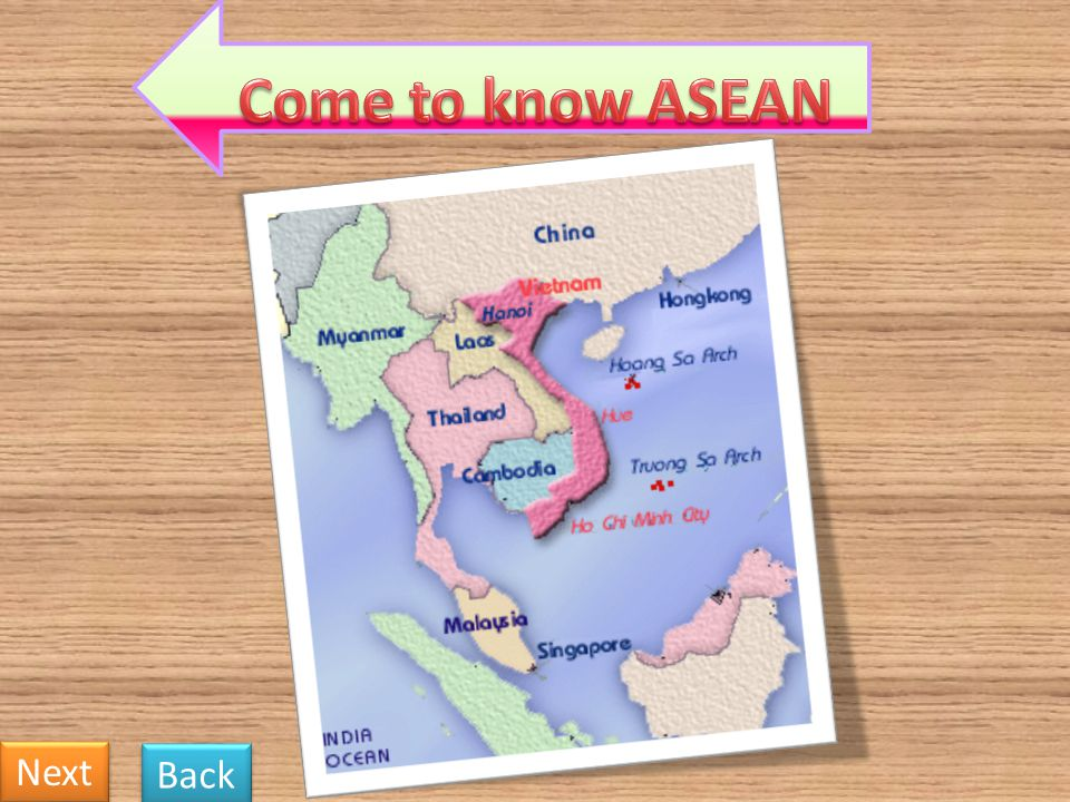 6. What does ASEAN stand for? Back Next