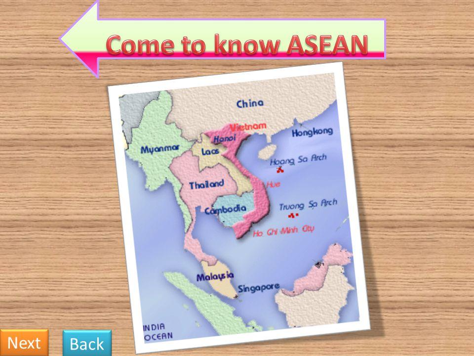 Myanmar The Philippines Singapore Thailand Vietnam Brunei Cambodia Indonesia Loa PDR Malaysia Next Back