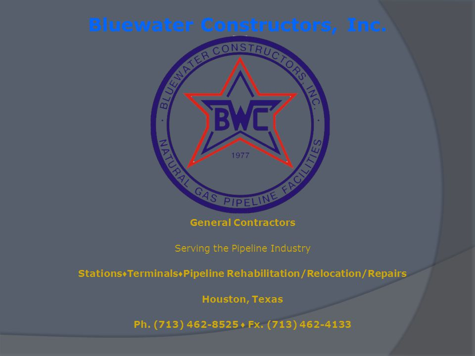 Bluewater Constructors, Inc.
