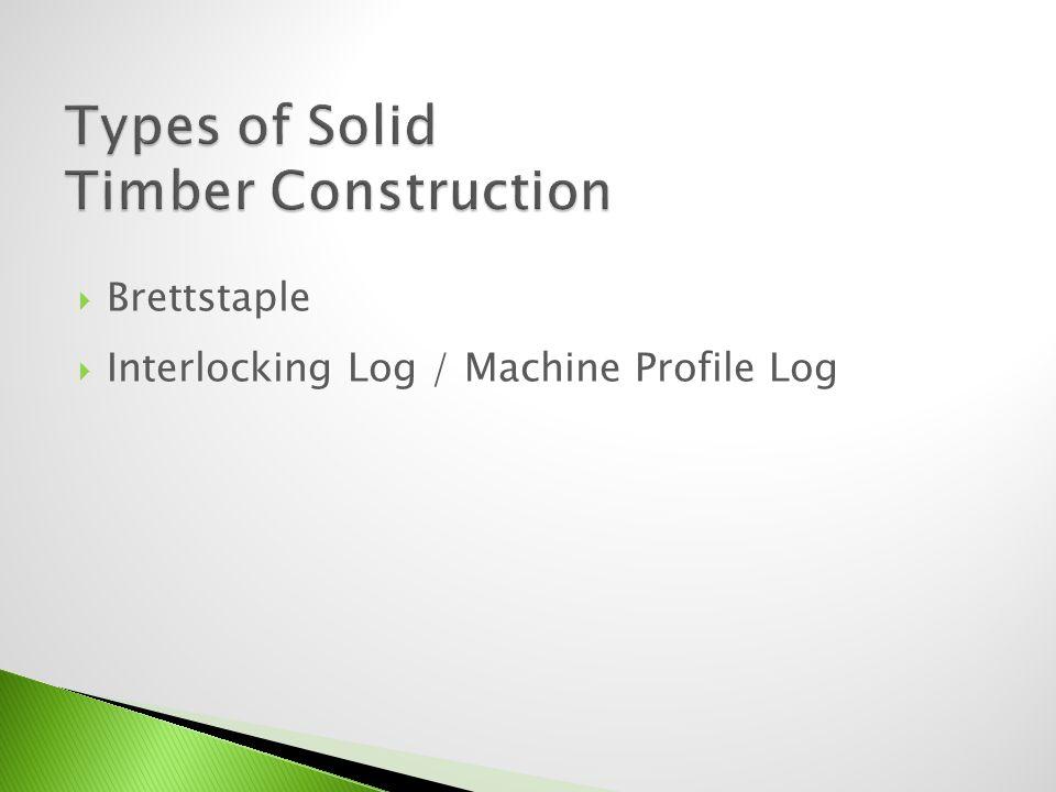 Interlocking Log / Machine Profile Log