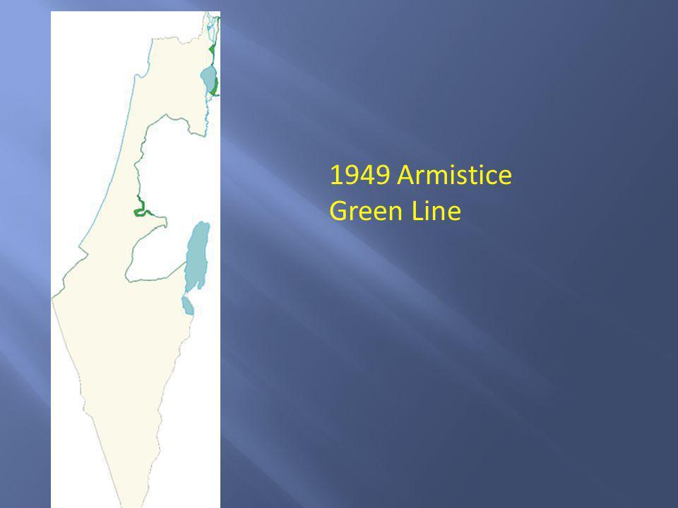1949 Armistice Green Line