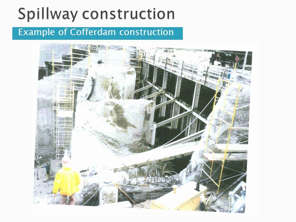 Example of Cofferdam construction