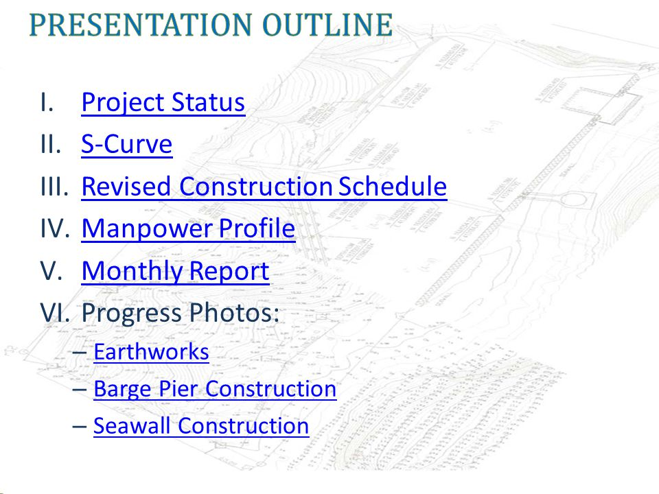 * Based on approved Construction Schedule version September 1, 2011.