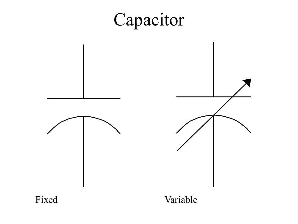 Capacitor FixedVariable