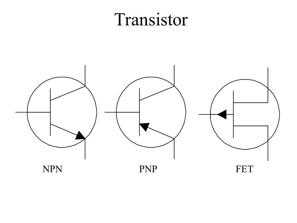 Transistor NPNPNPFET