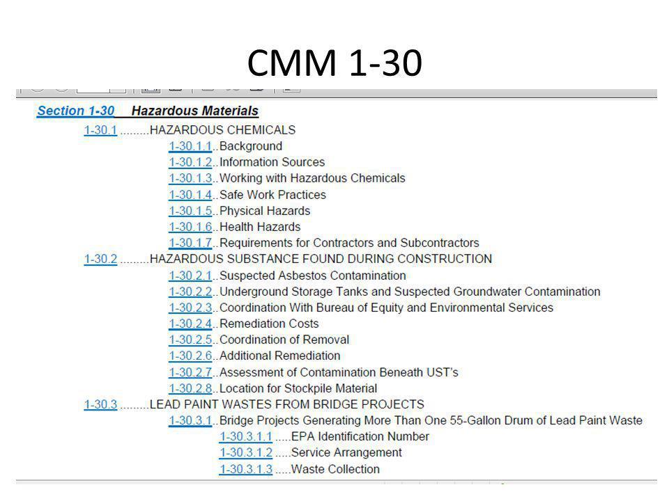 CMM 1-30