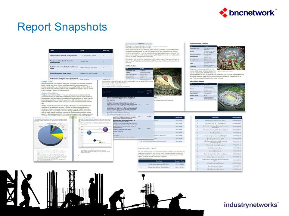Report Snapshots