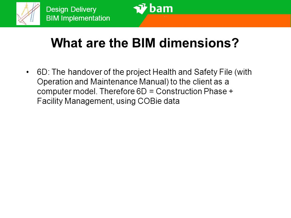 Design Delivery BIM Implementation How do we make this work? We need a plan! A BIM Execution Plan