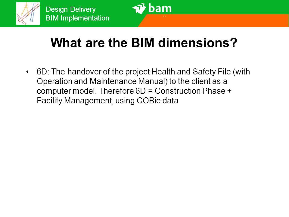 Design Delivery BIM Implementation Fragmented BIM Design