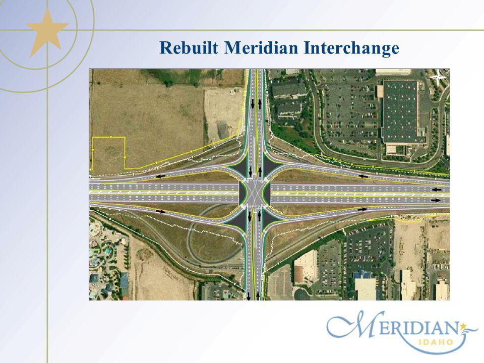 Rebuilt Meridian Interchange