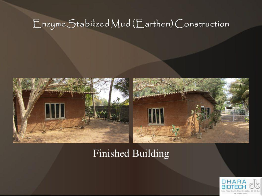Enzyme Stabilized Mud (Earthen) Construction Finished Building
