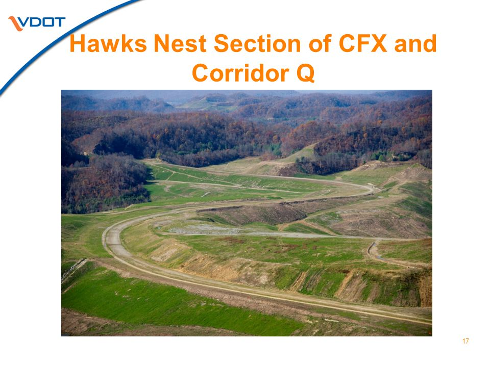 Hawks Nest Section of CFX and Corridor Q 17