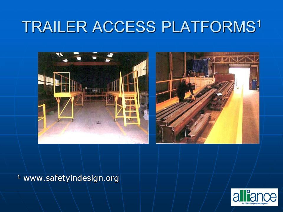 TRAILER ACCESS PLATFORMS 1 1 www.safetyindesign.org