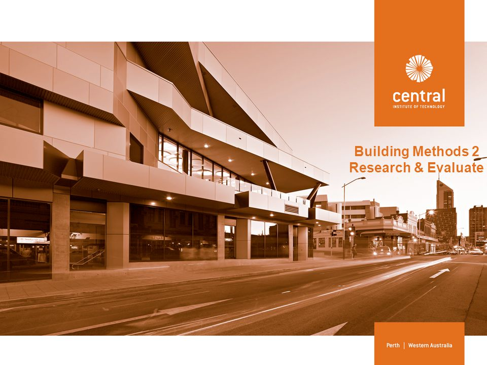 Assessment 2 Part A (p.15) RESEARCH MATERIALS AND METHODS FOR STRUCTURAL ELEMENTS AND RECORD FINDINGS FOR A WIDE SPAN BUILDING Task 2 – Individual Research Characteristics and applications of materials used for structural elements are researched and evaluated.