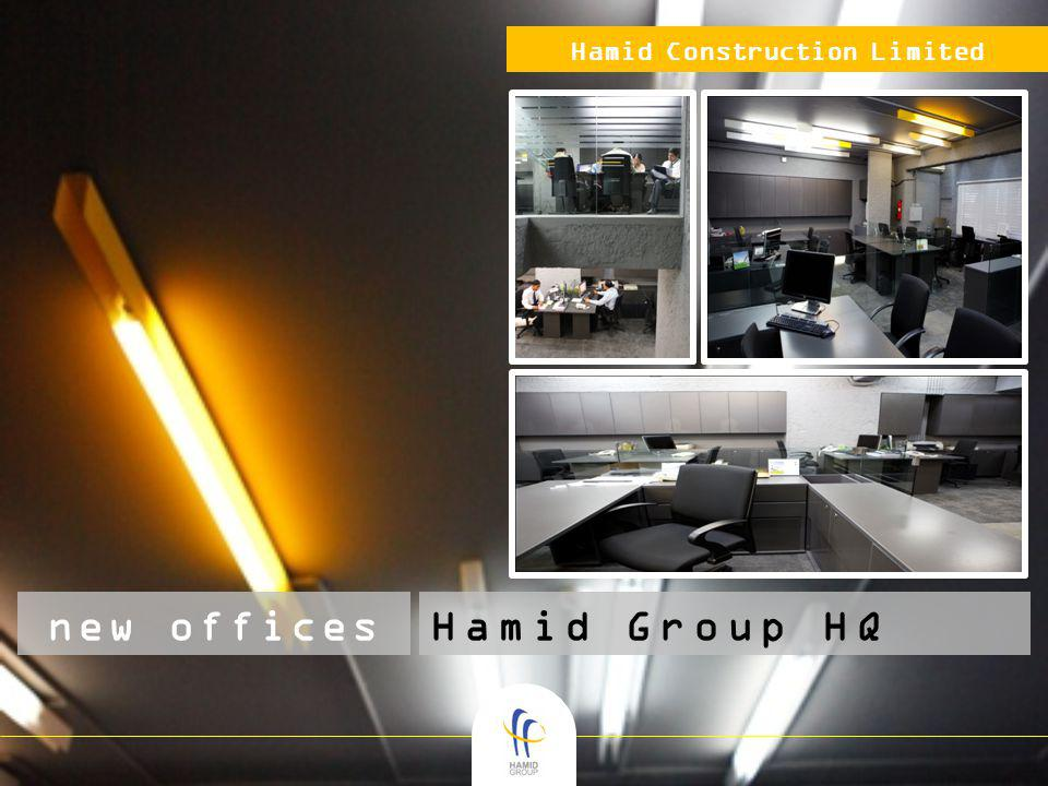 Hamid Construction Limited new officesHamid Group HQ