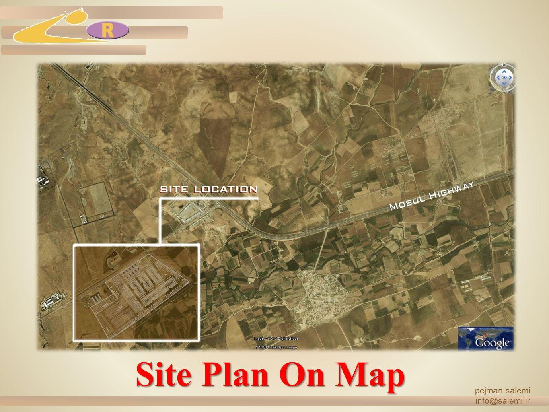 Site Plan On Map pejman salemi info@salemi.ir