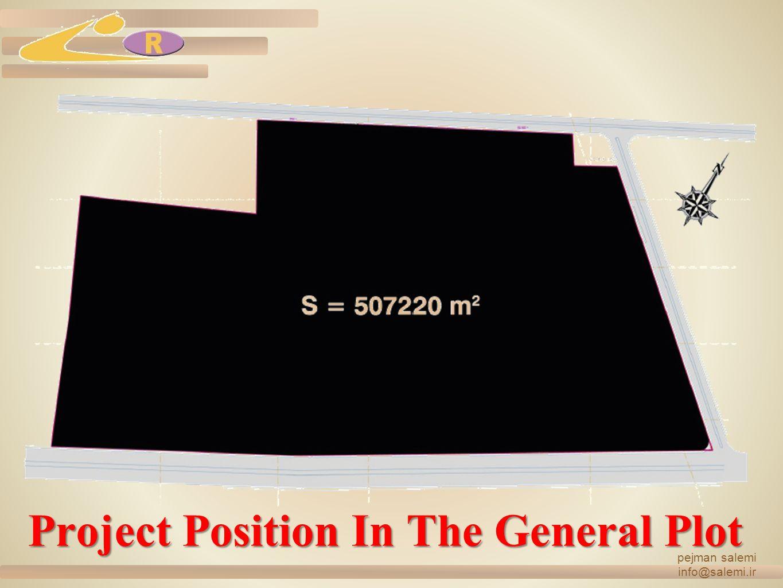 Project Position In The General Plot pejman salemi info@salemi.ir