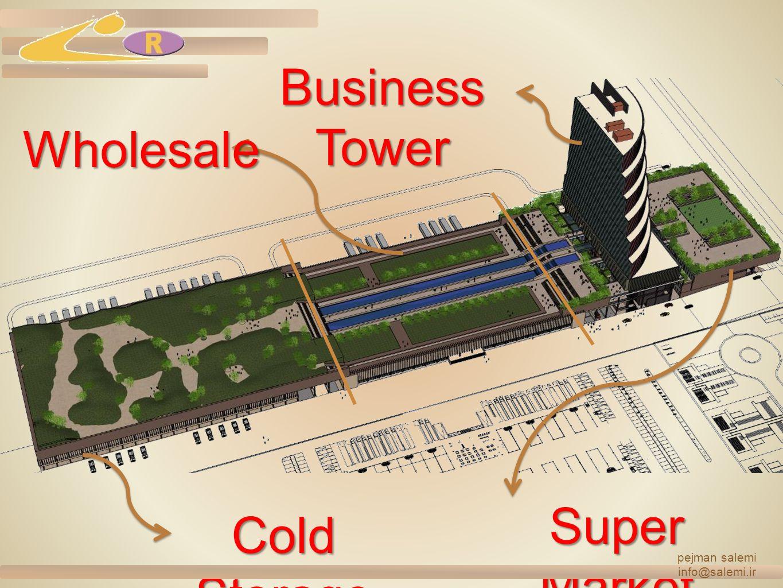 Cold Storage Wholesale Business Tower Super Market pejman salemi info@salemi.ir