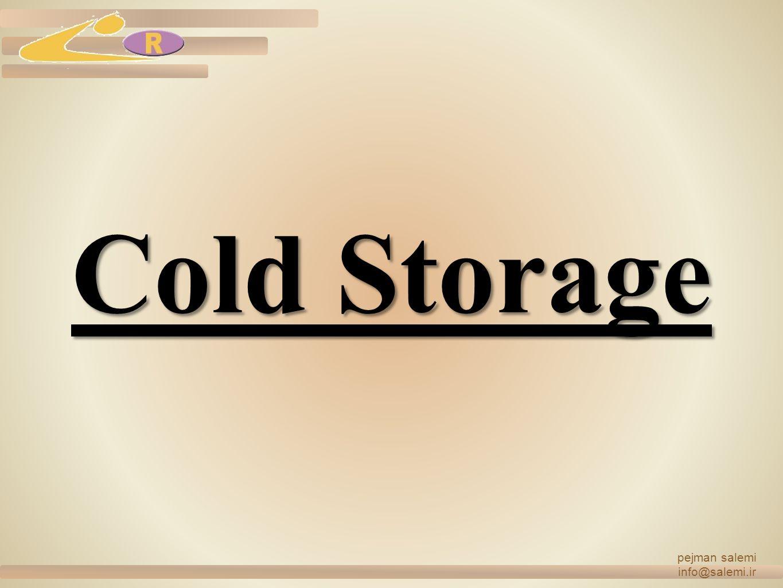 Cold Storage pejman salemi info@salemi.ir