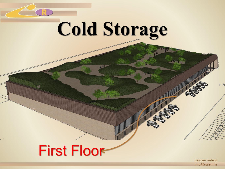 Cold Storage pejman salemi info@salemi.ir First Floor