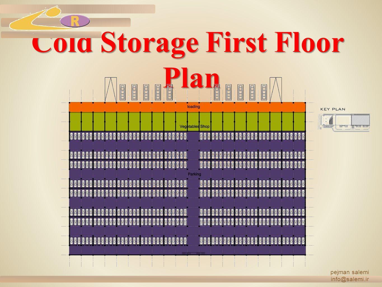 Cold Storage First Floor Plan pejman salemi info@salemi.ir