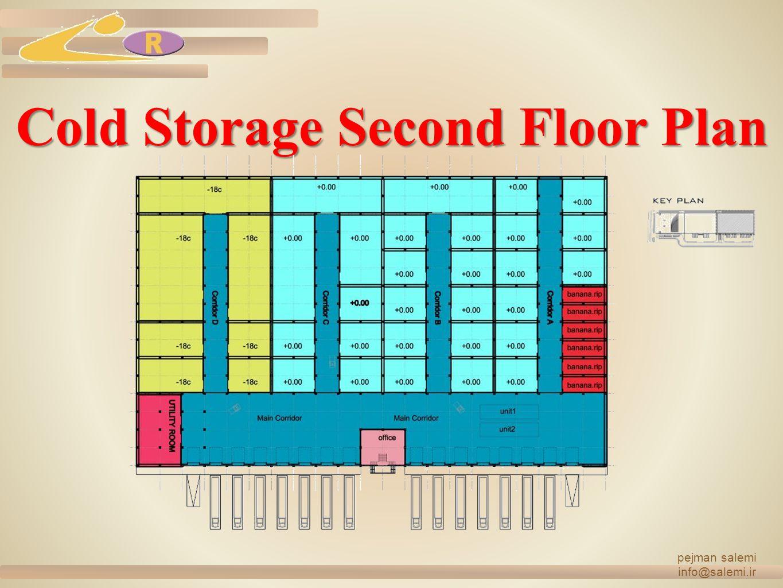 Cold Storage Second Floor Plan pejman salemi info@salemi.ir