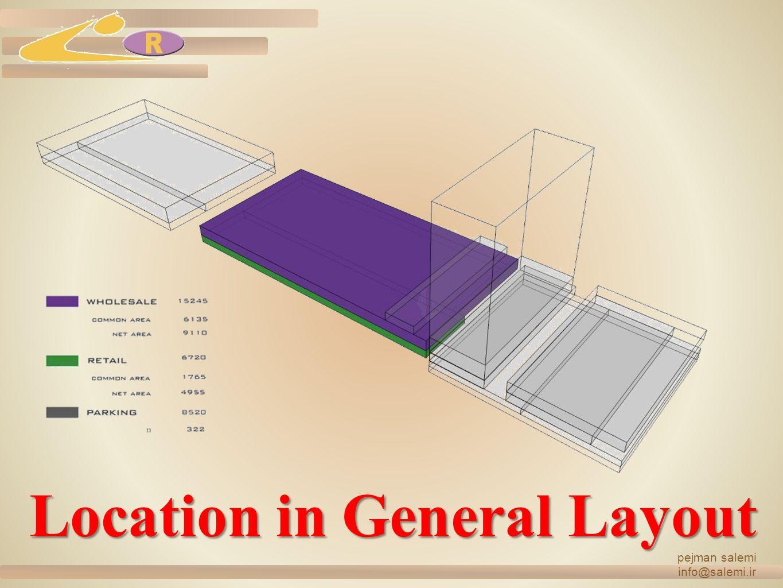 pejman salemi info@salemi.ir Location in General Layout