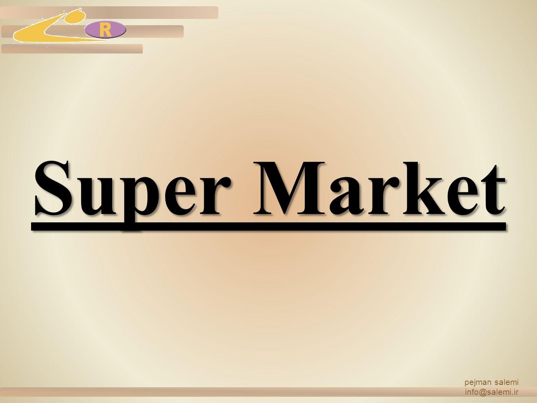 Super Market pejman salemi info@salemi.ir