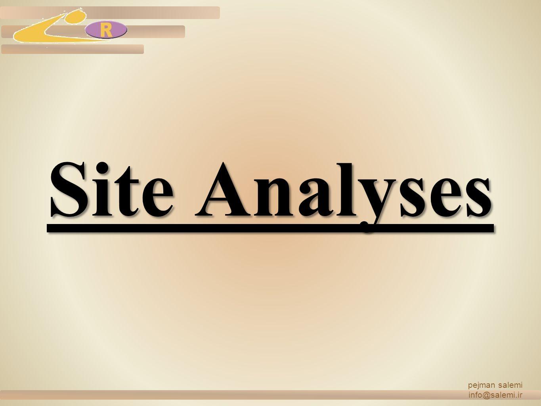 Site Analyses pejman salemi info@salemi.ir