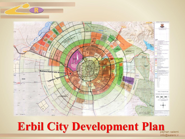 Erbil City Development Plan pejman salemi info@salemi.ir