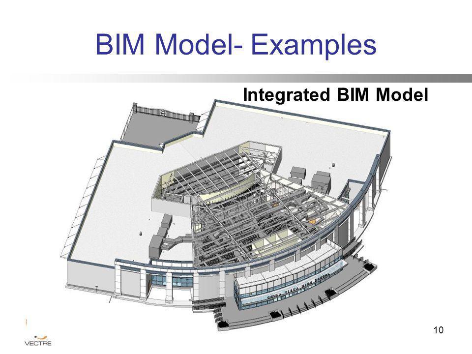 Integrated BIM Model 10 BIM Model- Examples