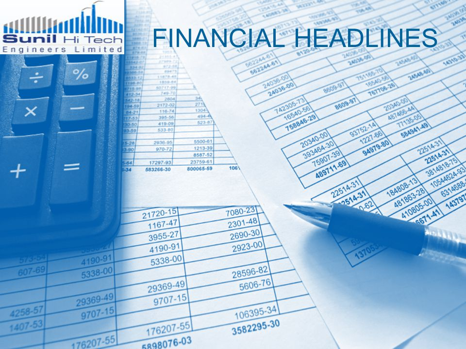 FINANCIAL HEADLINES