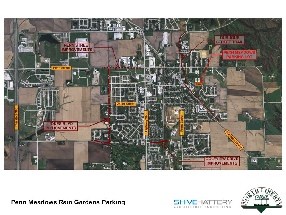 Penn Meadows Rain Gardens Parking